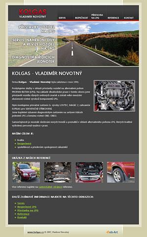 KOLGAS - Vladimír Novotný