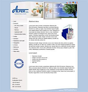 Alper a.s. - plastová okna a dveře