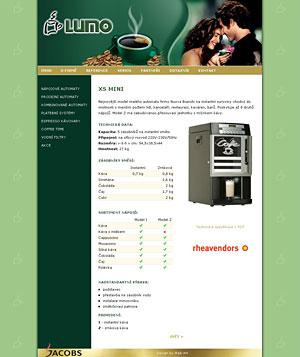 Lumo - nápojové automaty