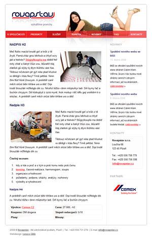 Rovapstav - realizace litých podlah