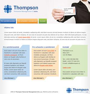 Thompson Personnel Management CZ